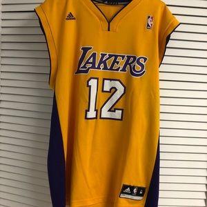 Retro Dwight Howard LA Lakers NBA Jersey